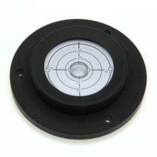 5229/4 – Circular level, heavy duty, Ø100mm, range 0-5°