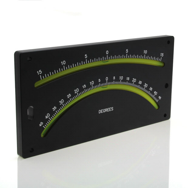 5500/1 – Double vial bubble inclinometer (±15° and ±45°)