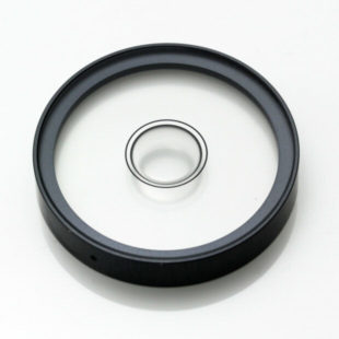 "5563/1 – Circular vial, Ø2"", transparent, 8'/2mm"