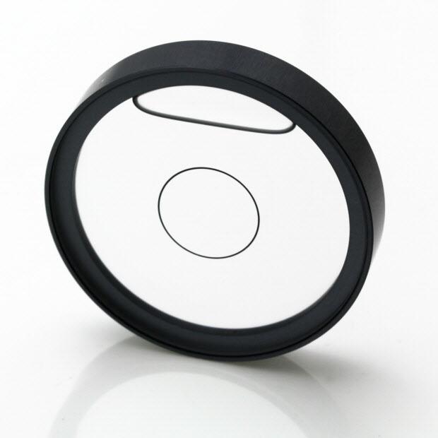 """5563/1 – Circular vial, Ø2"""", transparent, 8'/2mm"""
