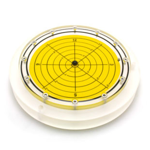 5648/4 – Subsea bullseye level (ball inclinometer), Ø250, range ±3°