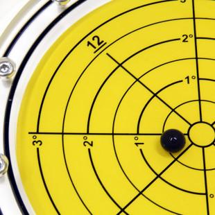 5648/4 – Subsea bullseye level (ball inclinometer), Ø250, range ±3°