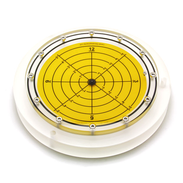 5648/5 – Subsea bullseye level (ball inclinometer), Ø250, range ±5°