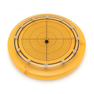 5648/7 – Subsea bullseye level (ball inclinometer), Ø250, range ±15°