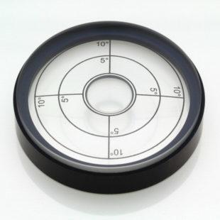 5702/1 – Circular vial, Ø50.8, transparent, range 0-10deg