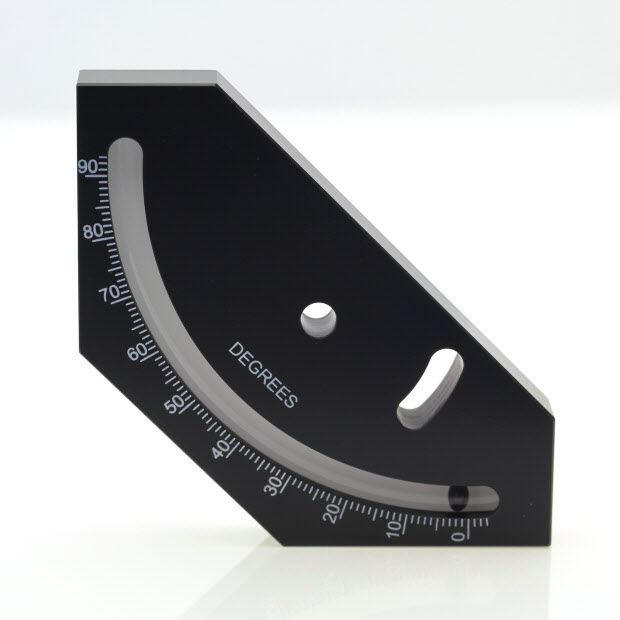 5710/1 – Ball inclinometer, 0-90 degrees, 70x70x8mm