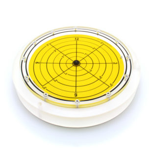 5886/3 – Subsea bullseye level (ball inclinometer), Ø300, range ±3°