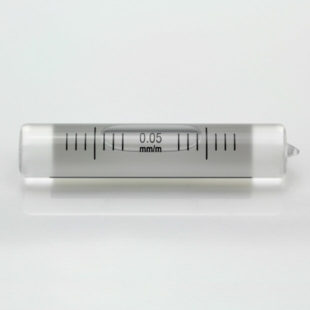 5895/101 – Ground vial, 58x12mm, sens 0.05mm/m
