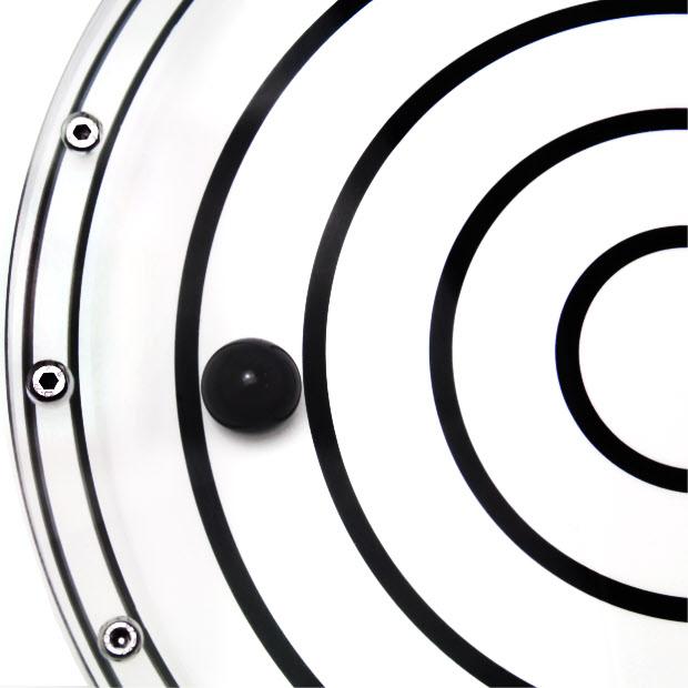 6088/1 – Subsea bullseye level (ball inclinometer), Ø350, range ±2°