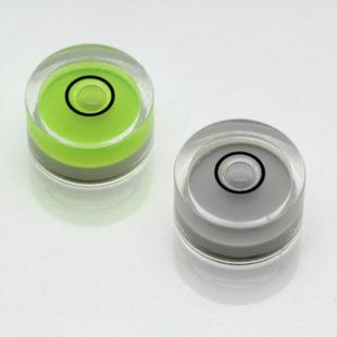 AV11G – Plastic circular vial, Ø11.3×6.2mm, Green, 43'/2mm