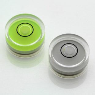 AV18G – Plastic circular vial, Ø18x9mm, Green, 40'/2mm