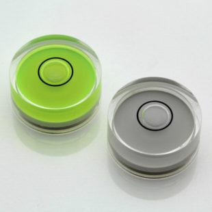 AV20 – Plastic circular vial, Ø20x9mm, Clear, 30'/2mm
