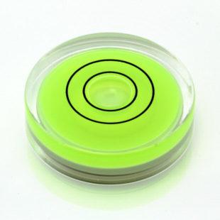 AV40 – Plastic circular vial, Ø40x10mm, Green, 46'/2mm