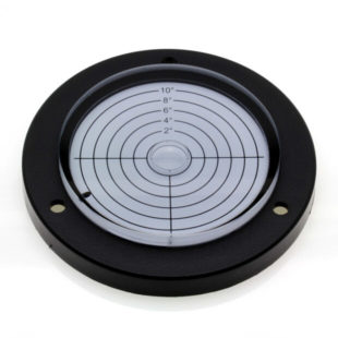 AVF100/10 – Plastic circular level, Ø100mm, range ±10°