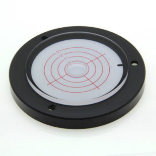 AVF100/3 – Plastic circular level, Ø100mm, range ±3°