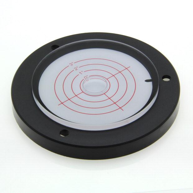 AVF100/3 – Plastic circular level, Ø100mm, range ±3°