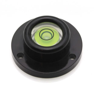 AVF26G – Plastic circular level, Ø26mm, green liquid