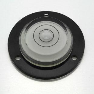 AVF43B – Plastic circular level, Ø43mm, clear liquid