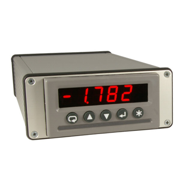 CDU-224 – Calibrated display, power supply and digital interface for closed loop inclinometers