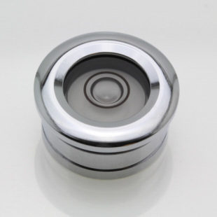 CF20 – Flush Mount Circular Level, Ø20mm, Chrome