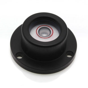 CG25B – Circular Level, Ø25, sens 20'/2mm, Black