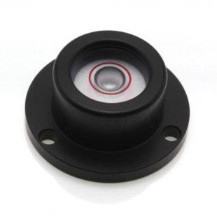 CG25B – Circular Level, Ø25, sens 20'/2mm, Black
