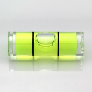 CY30 – Plastic cylindrical vial, 30x10mm, green liquid