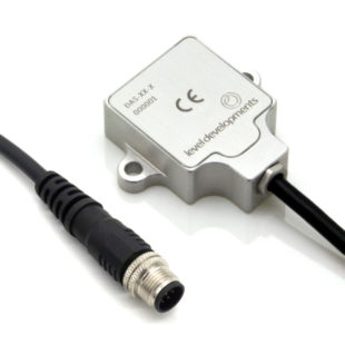 DAS-90-R – Inclinometer sensor, dual axis, ±90°, 0.5-4.5V output