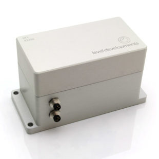 DCL-05-TCP – Single axis closed loop servo inclinometer, ±5°, with TCP/IP ethernet interface