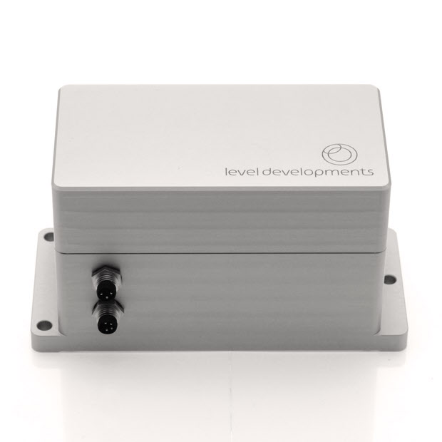 DCL2-05-TCP – Dual axis closed loop servo inclinometer, ±5°, with TCP/IP ethernet interface