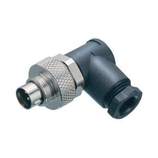 EL-CON-99-0421-70-07 – Connector, M9, 7 Pin Male, Right angle