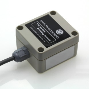 ELS-DR-5-2-1 – Single axis dual relay tilt switch, adjustable range ±1.8° to ±4.8°,  2Hz Filter.