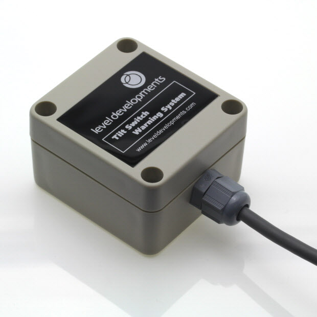 ETS-4-11.5-S – Single axis tilt switch, adjustable range ±4° to ±11.5°