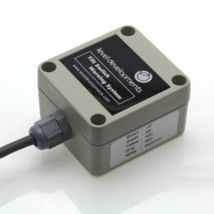 ETS-1-4-D – Dual axis tilt switch, adjustable range ±1° to ±4°