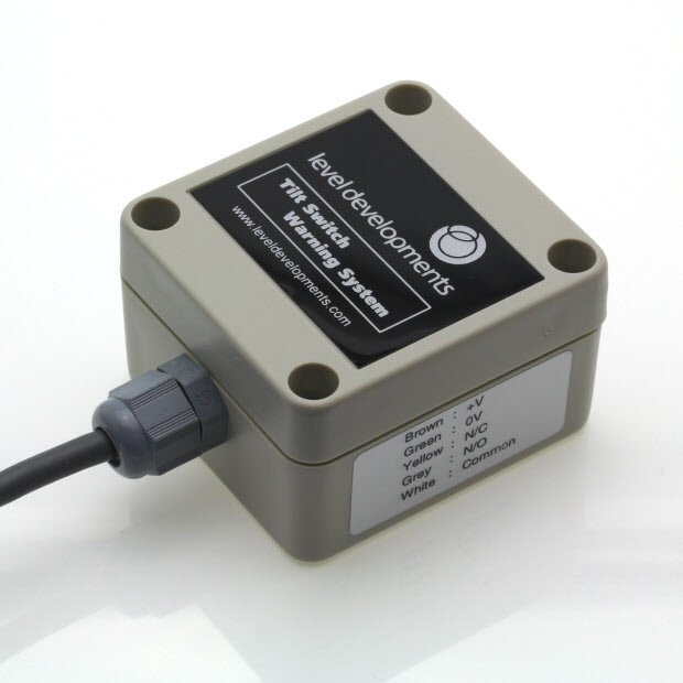 ETS-20-50-O – Omni directional tilt switch, adjustable range ±20° to ±50°