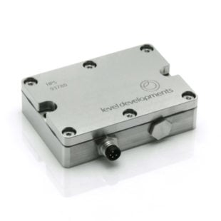 HPS-30-2-485 – Precision inclinometer, single axis, ±30°, RS485, with temperature compensation