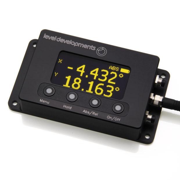 IDS-SOLAR2 - Zwei-Achsen-Neigungsmesser, ± 30°, mit OLED-Anzeigesystem