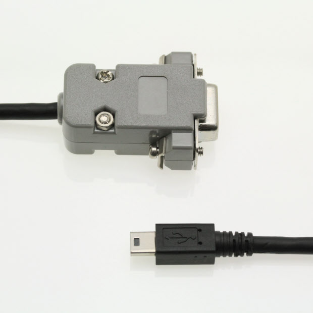 LD-2M-RS232 – LD-2M inclinometer cable to RS232 serial port, 2m long.