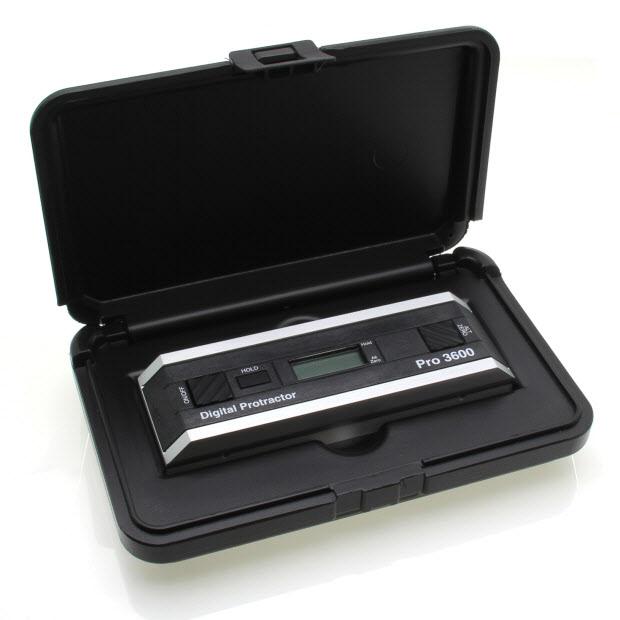 PRO3600 – Digital protractor, range 360°, resolution 0.01°