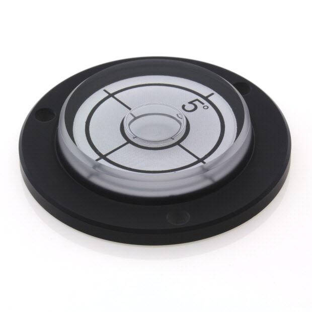 PVF55/5 – Circular level, 55mm diameter, range ±5°