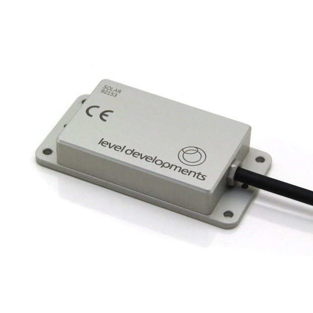 SOLAR-2-30-2-RS232 – Dual Axis Inclinometer, ±30°,  RS232 interface, With temperature compensation