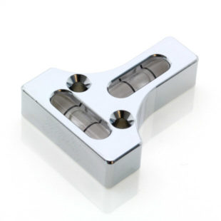 T10C – 2 Axis 'T' level, 25.4 x 31.8 x 7.5 mm, Sens; 26'/2mm