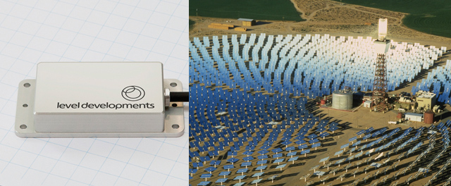 Inclinometers for Concentrating Solar Power (CSP) using Heliostats