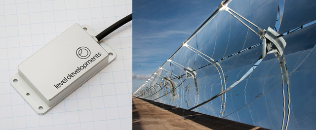 Inclinometers for Parabolic Trough Concentrating Solar Power (CSP)