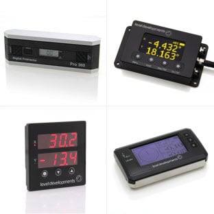 Digital Inclinometer - Slope Meter